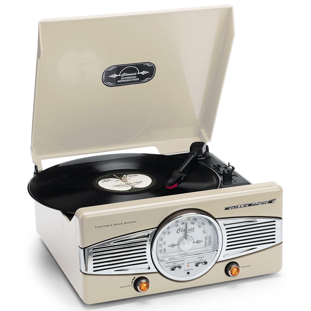 Lenco TT-28 C Platenspeler met AM/FM stereo radio voor €15,49 @ Kijkshop