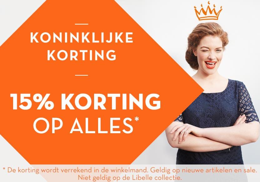 15% korting @ miss etam