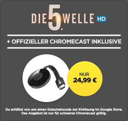 Chromecast 2 voor 24,99