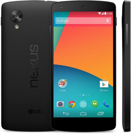LG Nexus 5 (16GB) en 1 maand data voor €271,- @ Coolblue