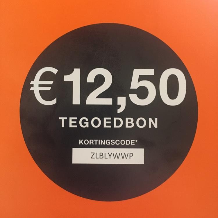 Kortingscode €12,50 Zalando