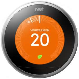Nest Learning Thermostat 3e generatie €199 @ TI-84shop