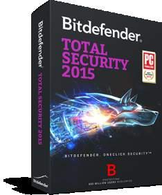 1 jaar gratis Bitdefender Total Security 2015