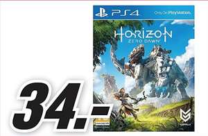 [REMINDER] Horizon: Zero Dawn (PS4) en Ghost Recon voor €34 @ Mediamarkt