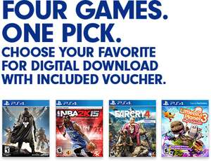PS 4 games: Far Cry 4, LittleBigPlanet 3, Destiny en NBA2K15