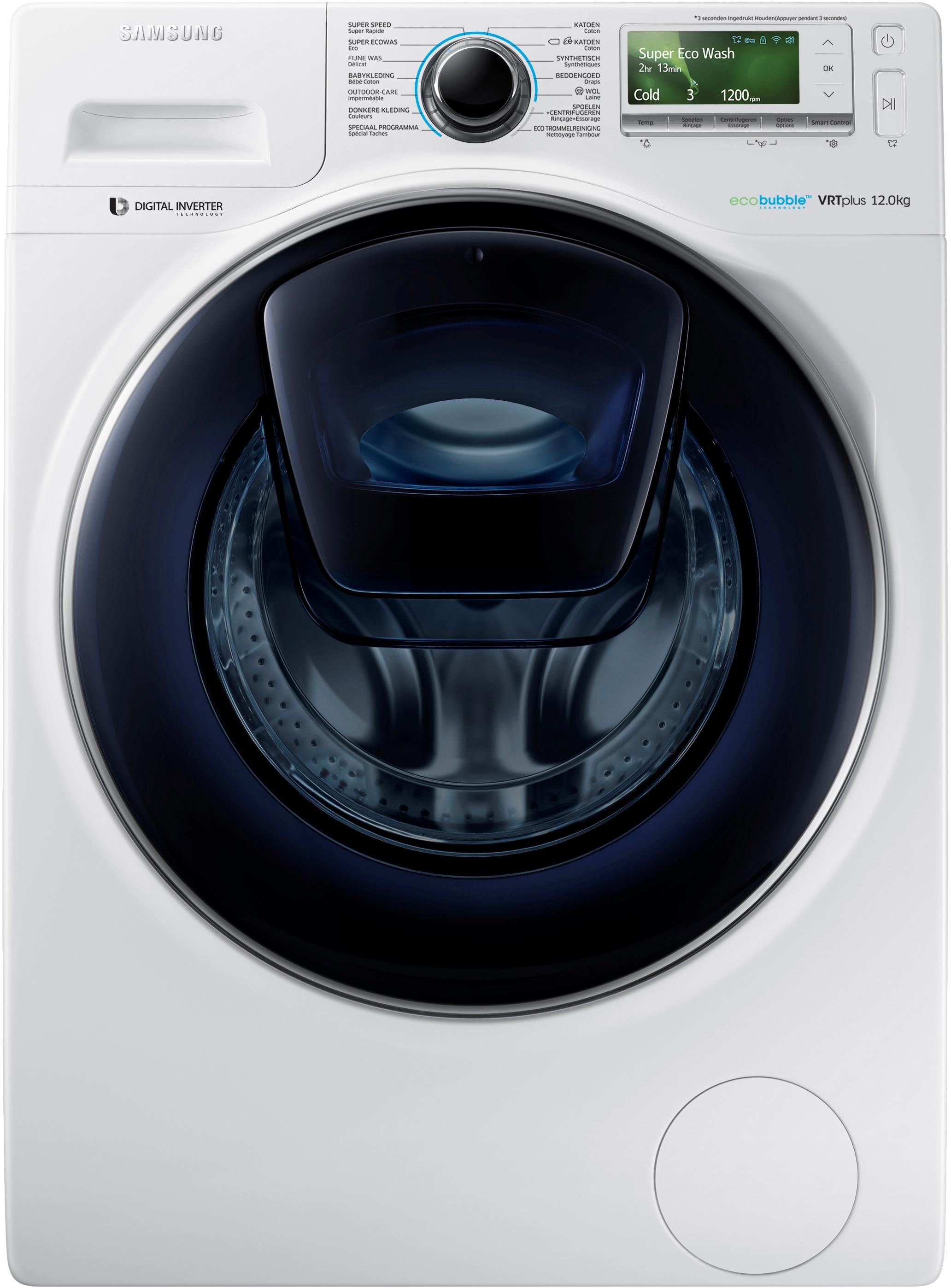 Samsung WW12K8402OW wasmachine voor €999 @ Art & Craft