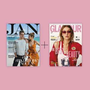 3x Jan + 3x Glamour €15 (normaal €28,32) @ Glamour