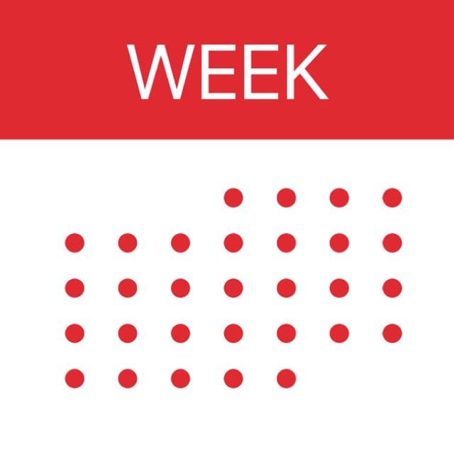 [GRATIS] Week Calendar van WeekCal B.V voor iOS (iPhone/iPad) (supergoed!) @ Apple AppStore