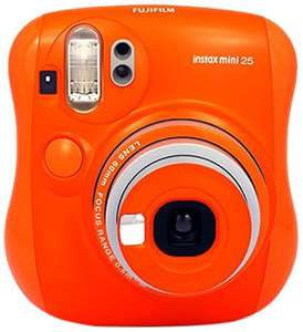 Fujifilm Instax Mini 25 (Oranje) directklaar-camera @ Amazon.es