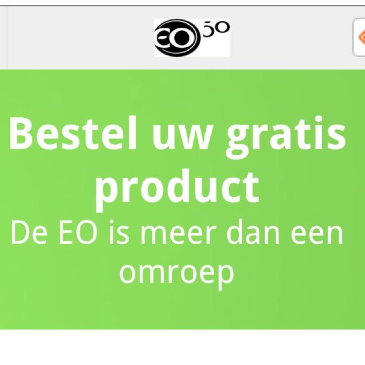 Keuze uit diverse gratis producten EO