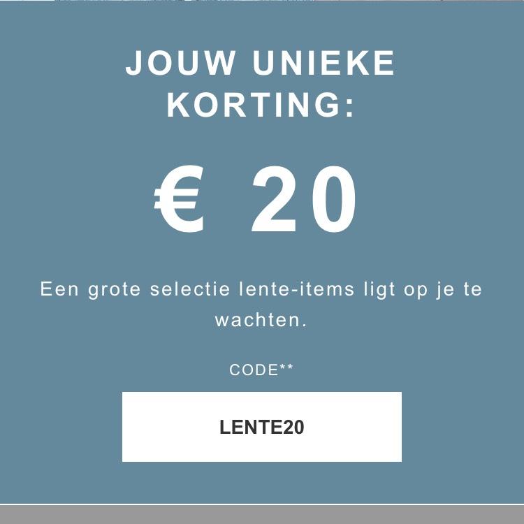 Zalando 20€ korting vanaf 100€