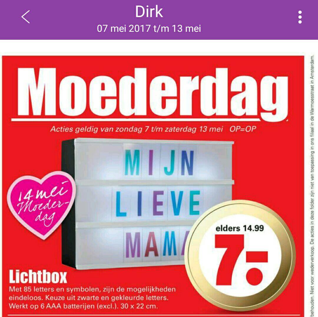 Lichtbox @ Dirk