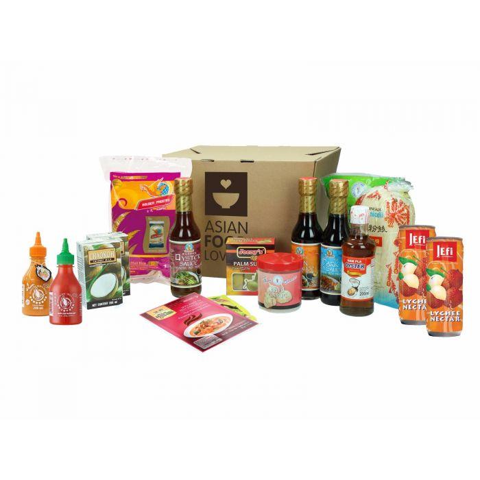 Asian Foodlovers box €7,95 @ tjox
