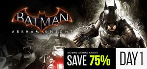 Batman™: Arkham Knight Steam Key €4.99 + Hele Week Andere Star Deals