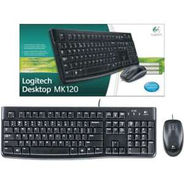 Logitech mk120 desktopset @action