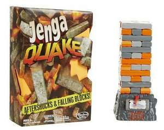 Hasbro Jenga Quake voor €7,99 bij Kruidvat