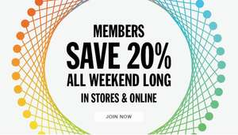 Als member 20% korting - ook op SALE @ Urban Outfitters