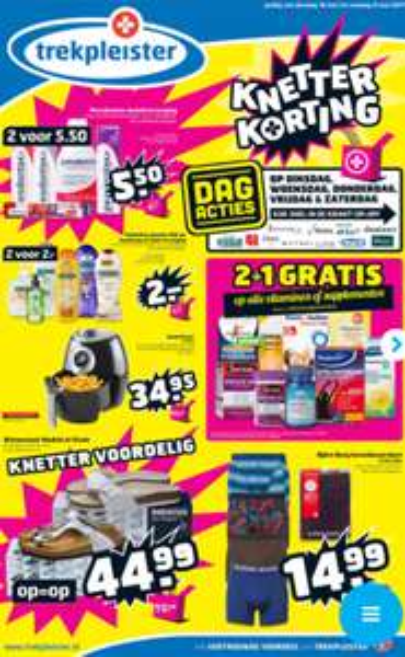 [REMINDER] Watshome smartfryer - €34,95 vanaf dinsdag @ Trekpleister