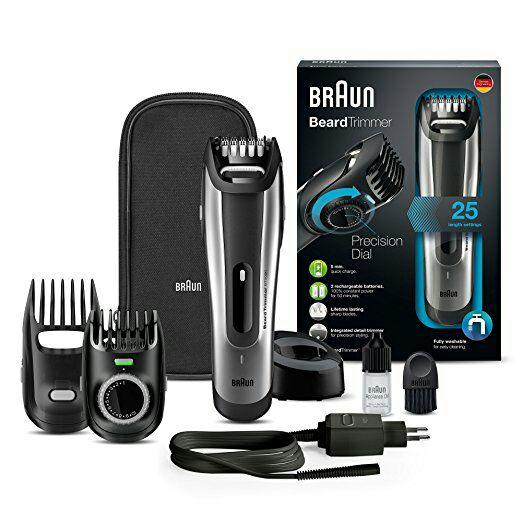 Braun baardtrimmer BT5090 (25 lengte instellingen) en andere Braun scheerapparaten scherp geprijsd @ Amazon.de