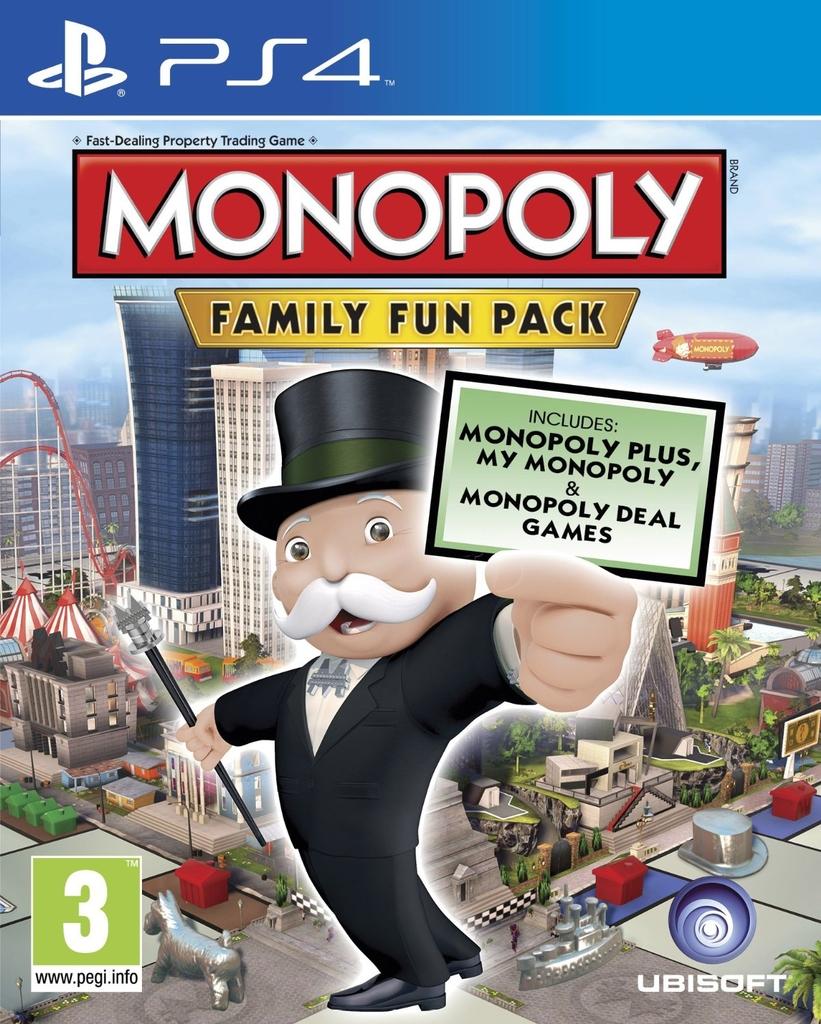 Monopoly Family Fun Pack (PS4/Xbox One) door kortingscode voor €22,49 @ Bol.com