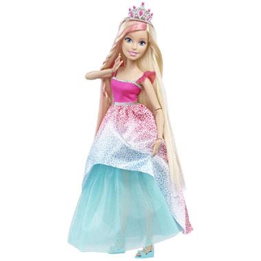Grote Barbie prinsessenpop (blond) voor €19,98 @ Bart Smit