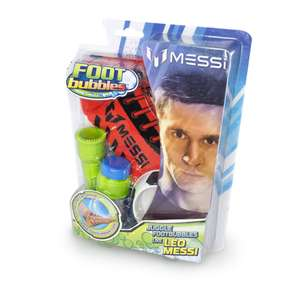 Messi Footbubbles set €4,99 @ Kruidvat