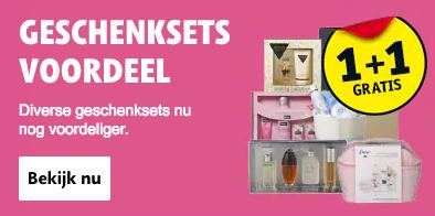 Geschenksets 1+1 gratis @ Kruidvat.nl