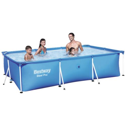 Bestway Deluxe Splash zwembad (300 x 201 x 66 cm) voor €53 @ Action