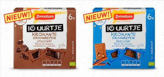 Probeer nu voor € 1,-  Zonnatura 10-uurtje krokante graanrepen @ via Scoupy