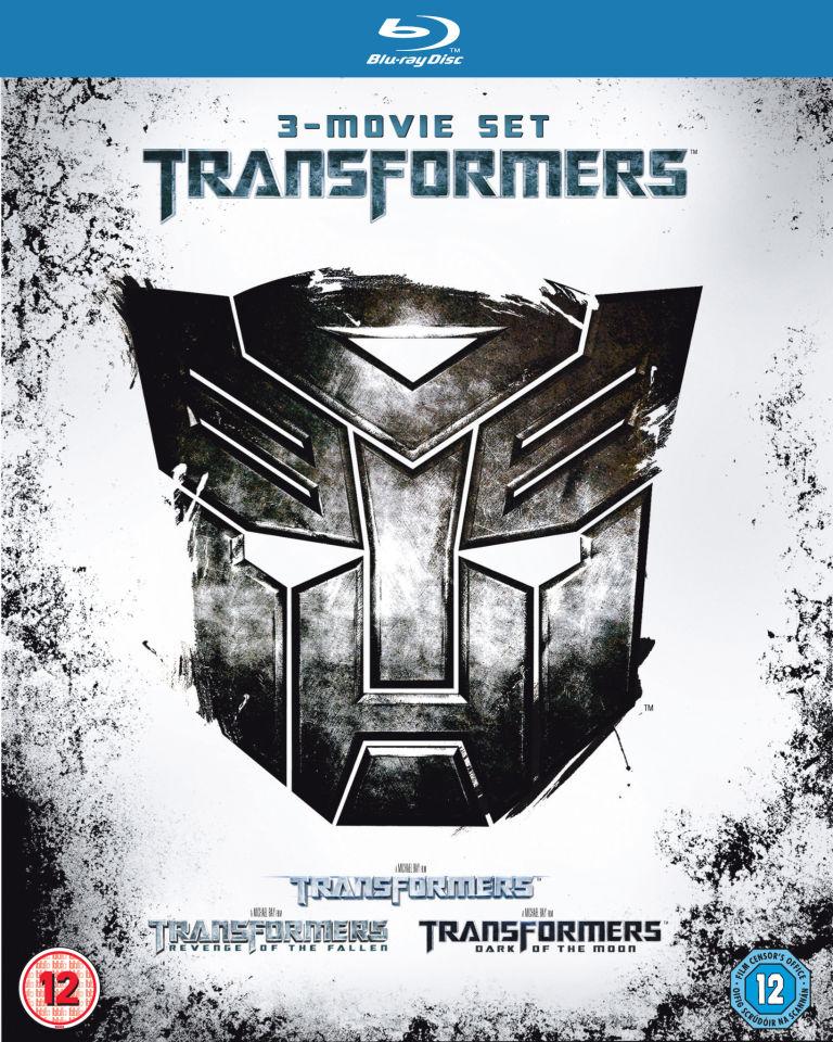 Transformers 1-3 (Trilogy) (Blu-ray) boxset voor € 14,73 @ Zavvi