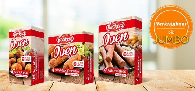 Beckers Ovensnacks: van €2,99* voor €1 @ Scoupy