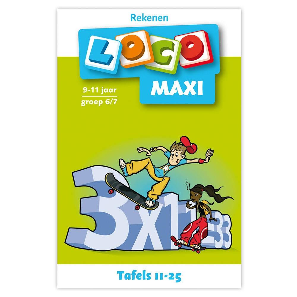 Maxi Loco Rekenen: tafels 11-25 voor €0,98 @ Bart Smit