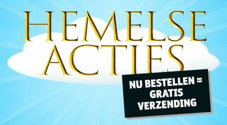 Hemelse acties + gratis verzending  @kruidvat