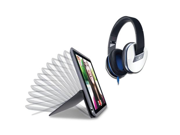 Logitech Any Angle (iPad Air 2/iPad Mini) + Logitech UE 6000 voor € 54,99