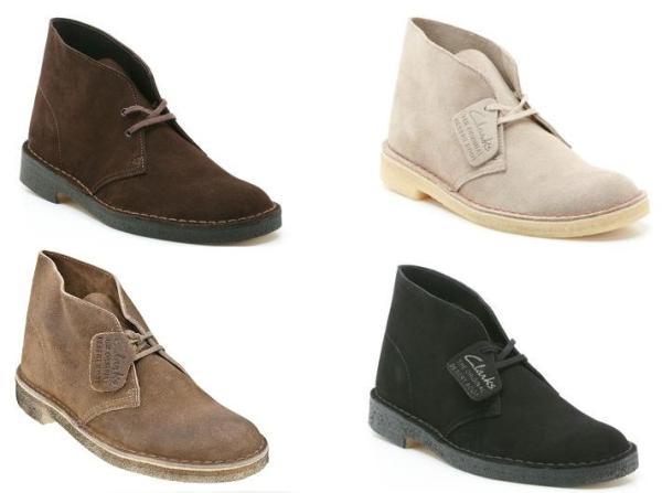 Clarks Desert Boots voor € 54,- @ River Island