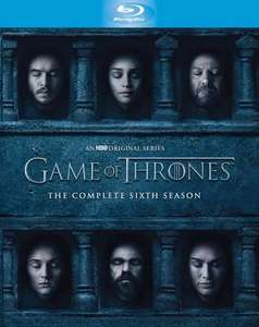Game of Thrones Seizoen 6 (blu-ray) voor €21,99 @ ECI / Mediamarkt