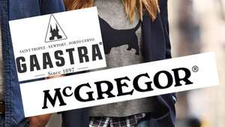 50% korting @ McGregor en Gaastra kleding