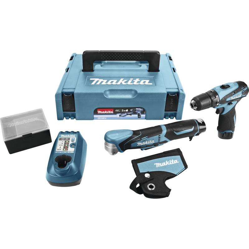 Makita DK1481J 10,8 V Combiset boren en schroeven voor €117,75 @ Toolshop