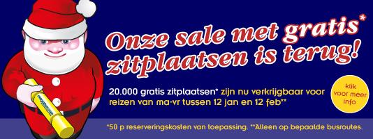 20.000 gratis zitplaatsen voor busreizen in Europa (€0,50 administratiekosten) @ Megabus