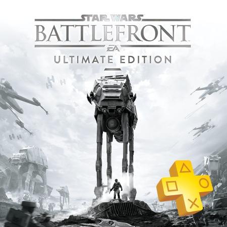 PlayStation Plus 12 maanden + Star Wars Battlefront Ultimate Edition voor €49,99 @ PSN