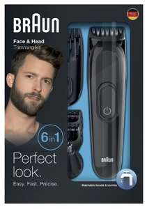 Braun Face & Head Trimming Kit €22,99 @ Kruidvat