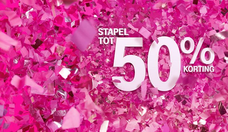 T-Mobile - 48 uur lang onbeperkt internet, 10.000 stuks!