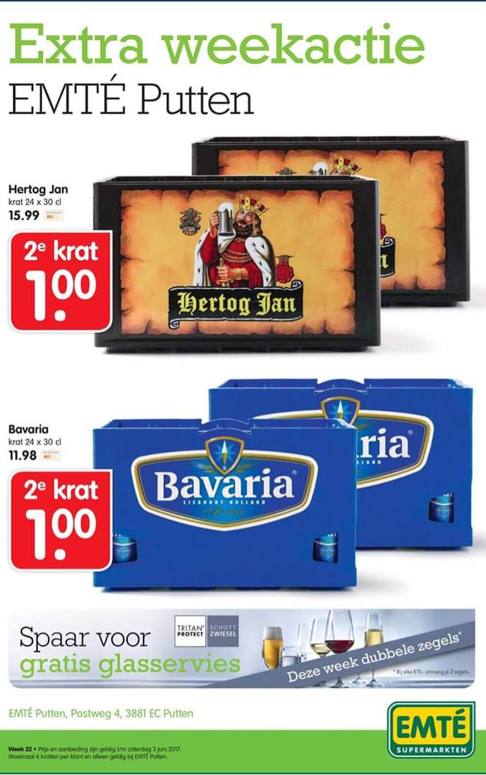 Hertog Jan of Bavaria  2e krat 1 euro @Emté Putten