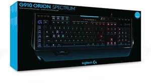 Logitech G910 Orion Spectrum - RGB Mechanisch Gaming Toetsenbord - Qwerty