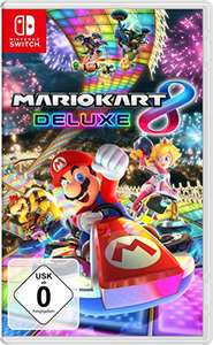 Mario Kart 8 Deluxe (Nintendo Switch) voor €47,99 (€37,99 met code) @ Amazon.de