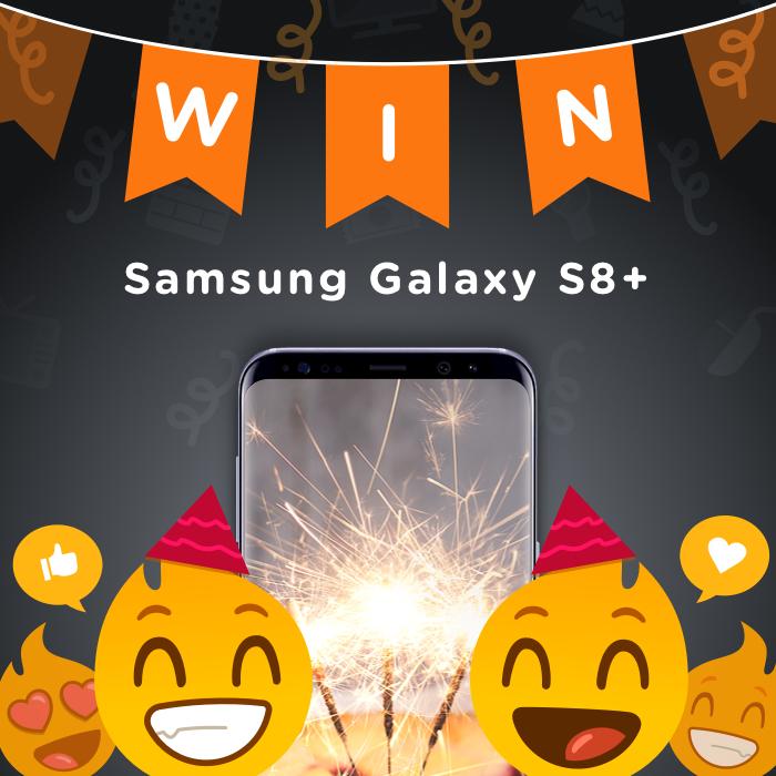 [UITSLAG] We bestaan 3 jaar! -  Win een Samsung Galaxy S8+