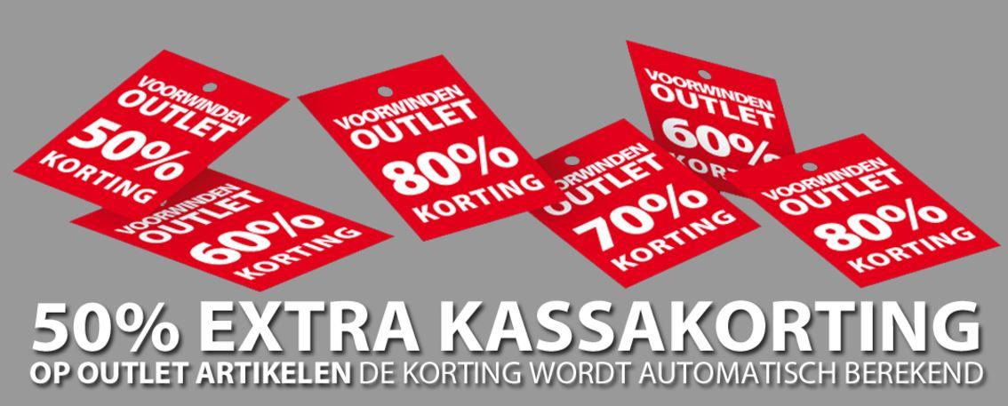 [UPDATE] Outlet 50% extra korting @ Voorwinden