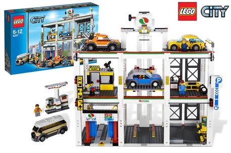 Lego City Garage (4207) voor €54,90 @ DagKnaller