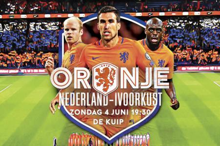 Nederland - Ivoorkust voor €15 @ Uitjekrant