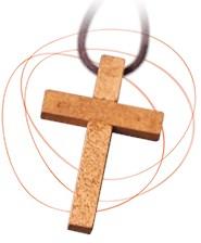 "Gratis 'Leef-je-geloof-kruisje"""